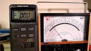Analog  U0026 Digital Multimeter