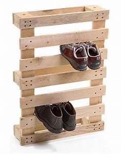 DIY Wooden Pallet Shoe Rack Plan