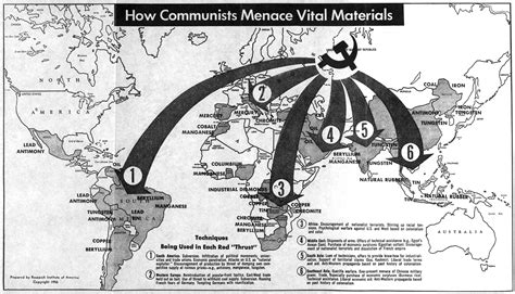Cold War Diagram by Mapping The Cold War