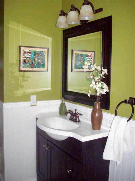 green bathrooms ideas colorful bathrooms from hgtv fans bathroom ideas