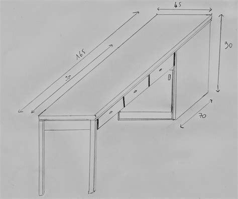 table cuisine largeur fabriquer une table plan de travail forum décoration