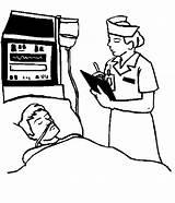 Nurse Patient Coloring Pages sketch template