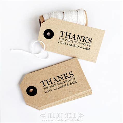 gift tag diy printable text editable wedding thank you