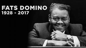 SiriusXM remembers Fats Domino, New Orleans rock pioneer ...