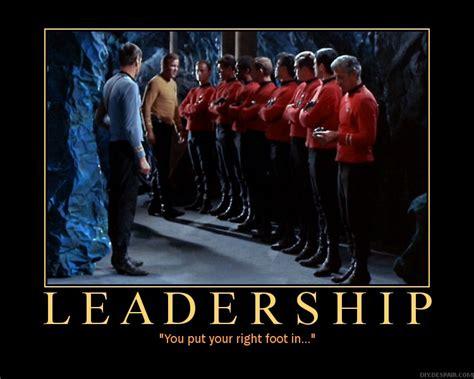 Leadership Meme - l astronave kirk of the week