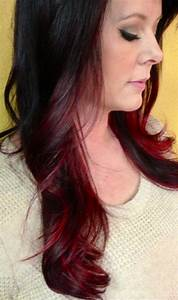 Pics Of Dark Brown Hair With Red Highlights | Hairsstyles.co