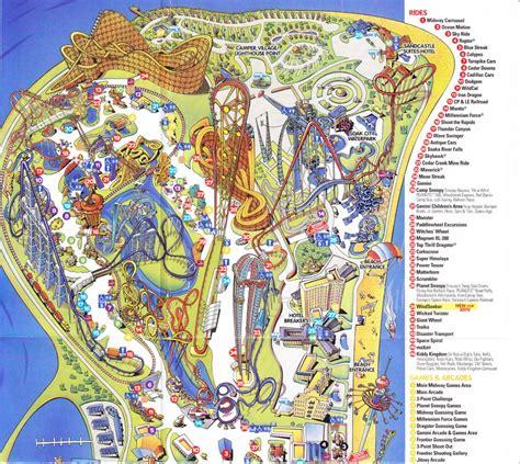 Cedar Point - 2011 Park Map