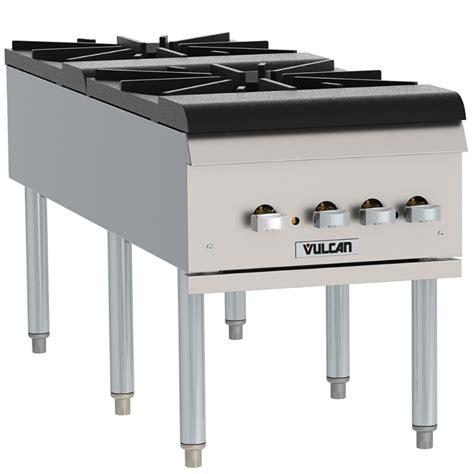 propane countertop stoves vulcan vsp200f liquid propane 2 burner countertop stockpot