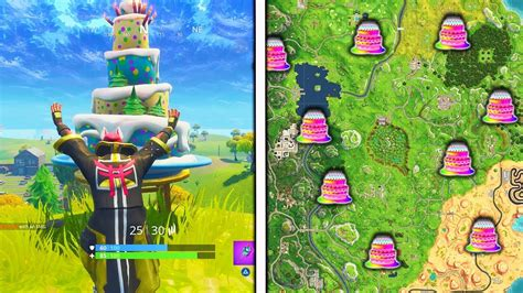 39 inspirational birthday cake fortnite map location