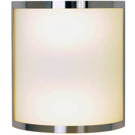 contemporary wall sconce fixture with two 13 watt gu24