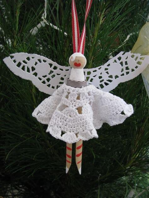 christmas fairy peg dolls   xmas tree