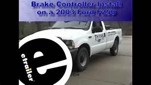 2006 Ford F250 Trailer Brake Controller Wiring Diagram