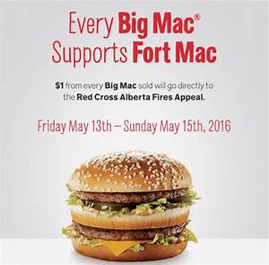 McDonald's Canada Promotions: Every Big Mac Supports Fort