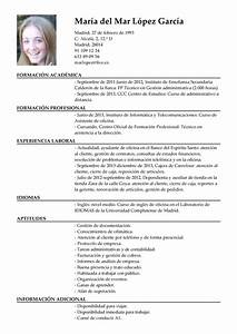 Ejemplo De Curriculum Vitae De Asistente Administrativo