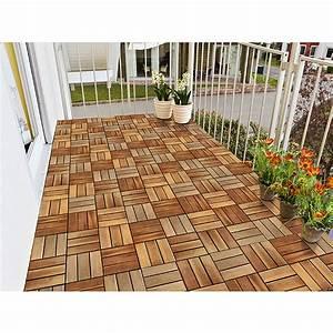 Terracotta Fliesen 30x30 : klick holzfliese akazie 30 x 30 cm 5er pack bauhaus ~ Markanthonyermac.com Haus und Dekorationen