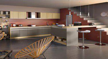 idee deco peinture cuisine la cuisine couleur taupe on l 39 adore deco cool