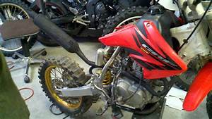 Chixarchive  Crf100 Engine Swapped In A Cr80 Chassis