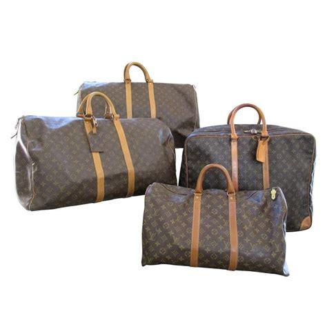 louis vuitton vintage gentlemans set  monogram travel luggage  stdibs