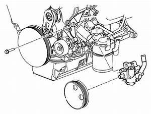 2005 Dodge Grand Caravan Pump  Power Steering