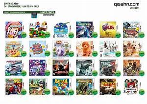 Qisahn Nintendo 3DS Games SITEX 2011 Price List Brochure ...