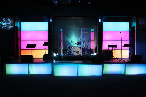 stage lighting design err in the church church stage design ideas