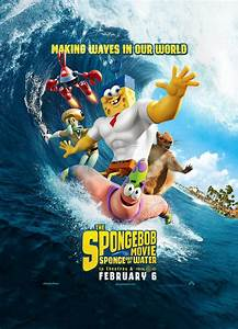 THE SPONGEBOB MOVIE Has a New Trailer and Poster
