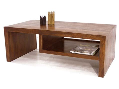 meuble cuisine pas cher et facile table basse bois palissandre 1 niche jorg 5054