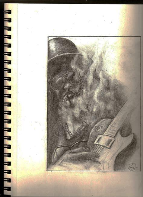 Slash  Guns N' Roses By Thestrangeartist On Deviantart