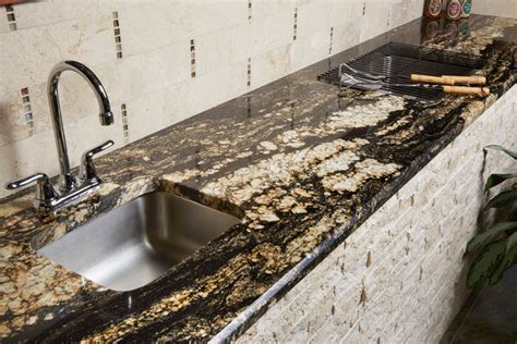 supreme gold granite patio other metro by arizona tile