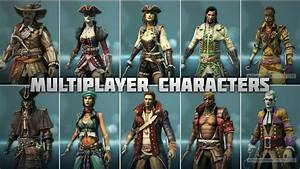 Assassin's Creed 4 - All Multiplayer Characters - YouTube