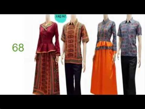busana muslim modern wanita model baju batik