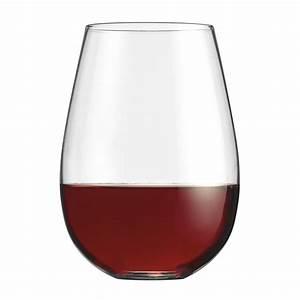 Cuisinart, Stemless, Red, Wine, Glasses, Set, Of, 4, -cg-s4r