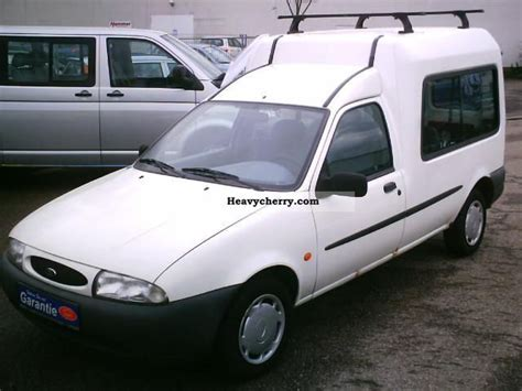ford fiesta courier  green badge   vans