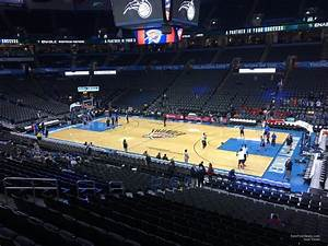 Chesapeake Energy Arena Section 206 Oklahoma City