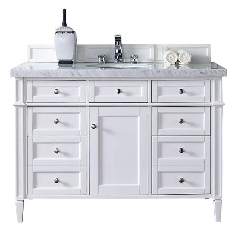 48 inch black bathroom vanity without top