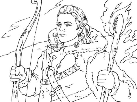 of thrones coloring pages of thrones colouring in page ygritte colouring in