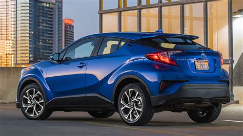 Coupe Highrider!  2018 Toyota Chr First Drive Autoblog