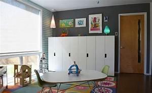 Meuble Rangement Salle De Jeux : id e rangement chambre enfant avec meubles ikea ~ Teatrodelosmanantiales.com Idées de Décoration