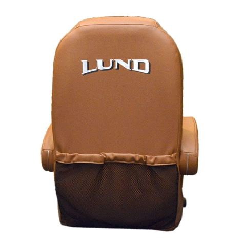 Captains Chair For Lund Boat by Lund Terra Cotta Beige Reclining Vinyl Boat Captains Seat