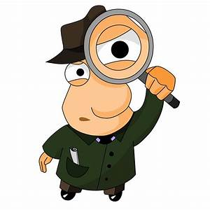 Magnifying Glass Detective | Clipart Panda - Free Clipart ...