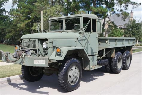 M35 Deuce And A Half by 1971 Am General M35a2 6x6 For Sale On Bat Auctions