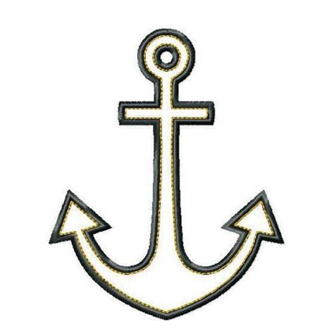 Anchor Clip Anchor Clip Black And White Images