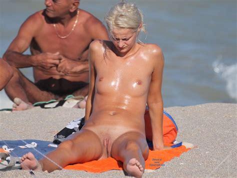 Horny Blonde July Voyeur Web