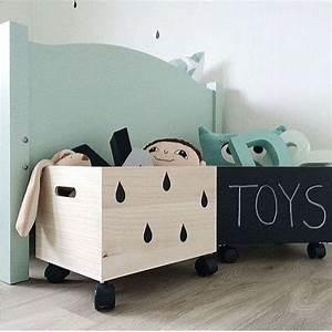 Bac De Rangement Jouet : id e de rangement pour les jouets ~ Teatrodelosmanantiales.com Idées de Décoration
