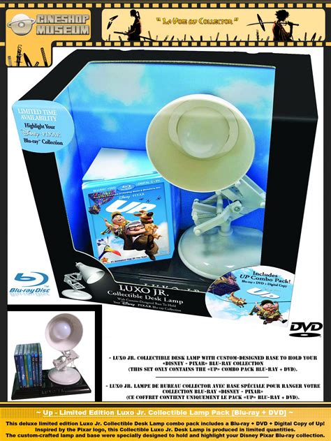 up limited edition luxo jr collectible l pack blu ray
