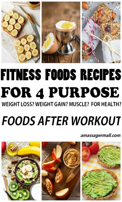 Fitness foods recipes for 4 fitness purpose-foods after