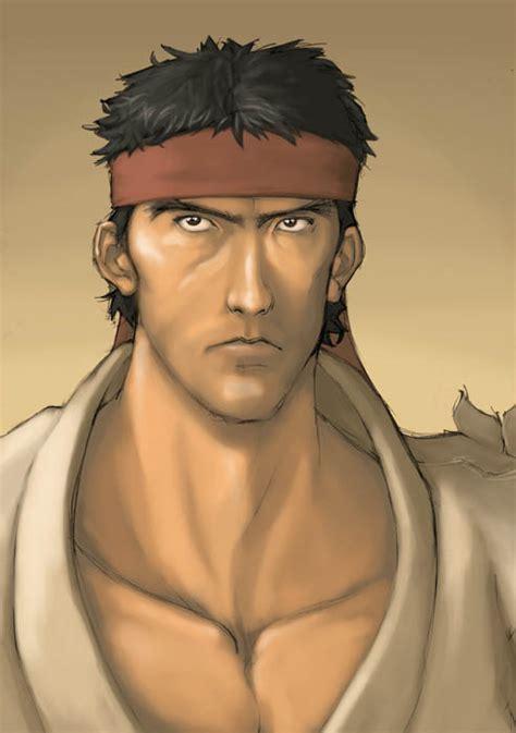 Ryu Street Fighter Fan Art By 2dforever