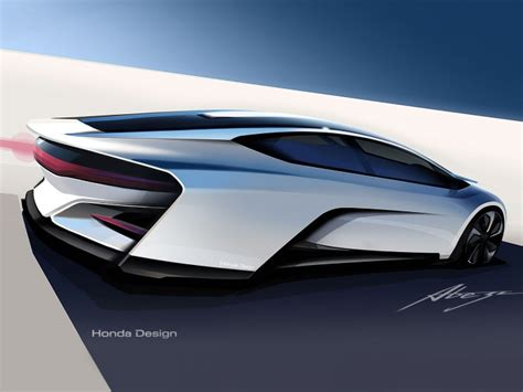 Car Design Concepts : Honda Fcev Concept
