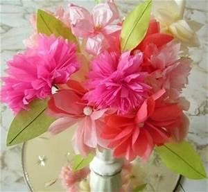 come creare fiori di carta crespa Fiori di carta
