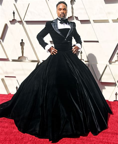 Oscars Red Carpet Billy Porter Custom Ballgown